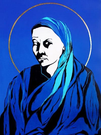 Self-Portrait-in-Blue