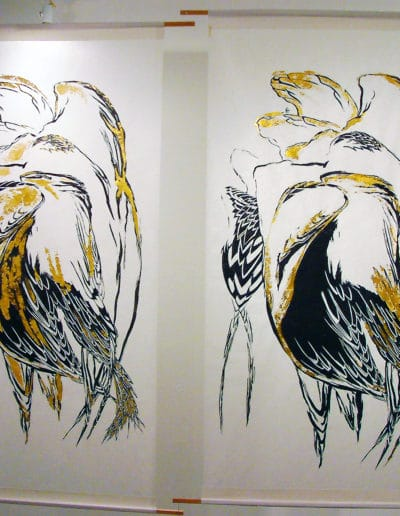 Wings shown at Gallery 114