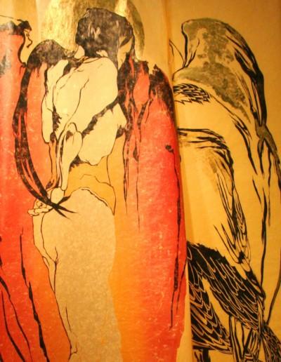Kimono Wings, detail