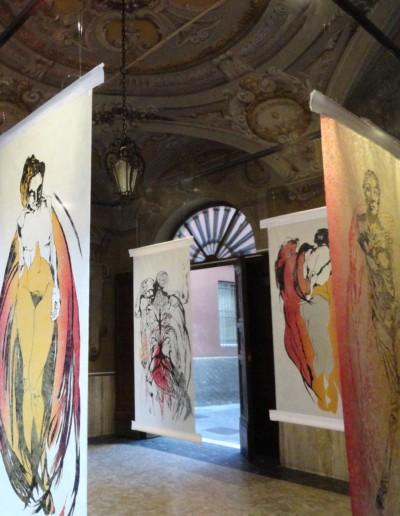 Art'emelia Gallery show in Parma, Italy