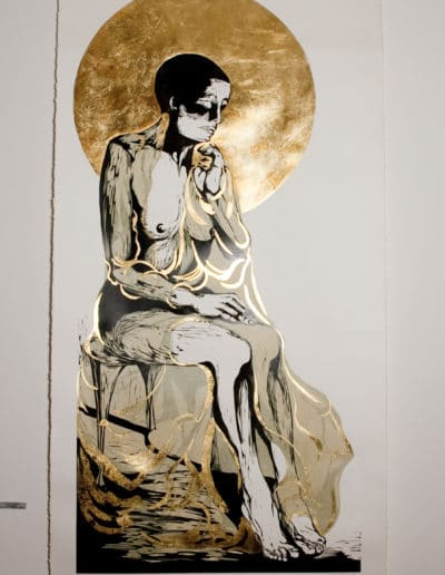 Mary Magdalen, shown at the National Centre of Contemporary Art in Sofia, Bulgaria